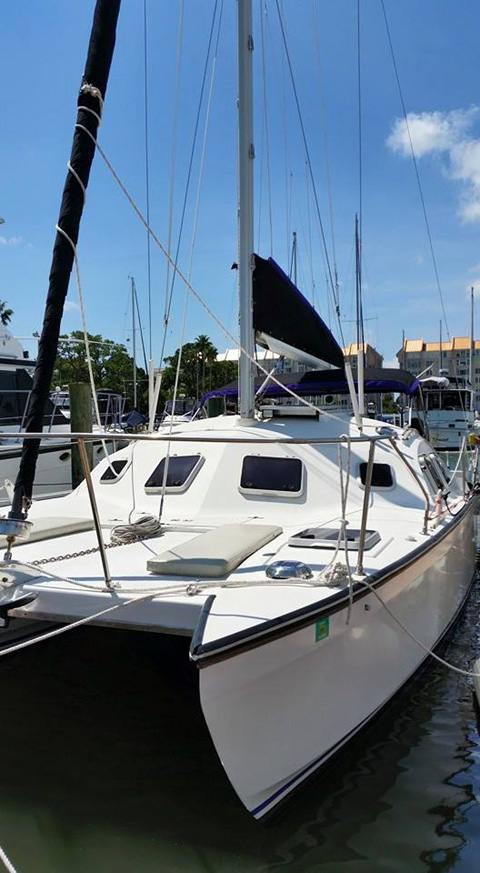 Carlson Catamaran, Ultimate Concept 32, 1991 sailboat