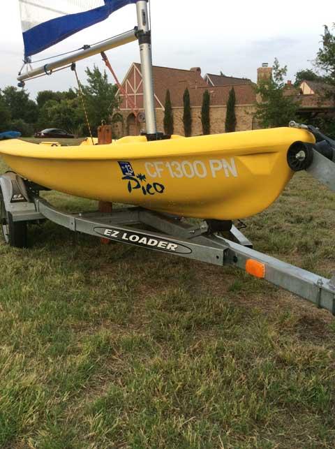 Vanguard Pico Laser, 12', 2000 sailboat