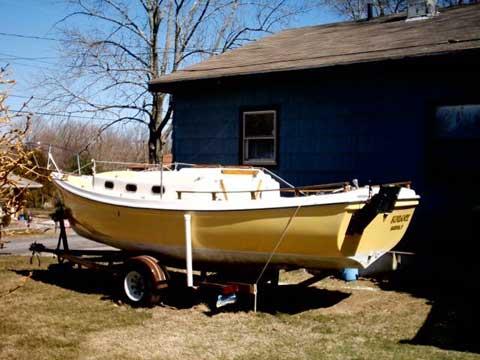 Venture Newport 23', 1978 sailboat