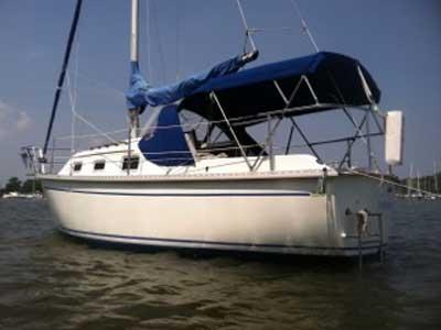 Watkins Seawolf 25, 1987 sailboat
