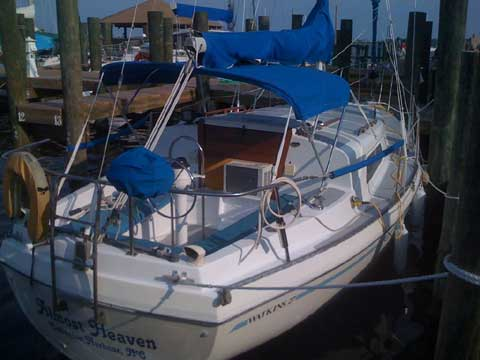 Watkins 27 1979 Nags Head North Carolina Sailboat For