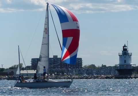 Wavelength 24, 1983 sailboat