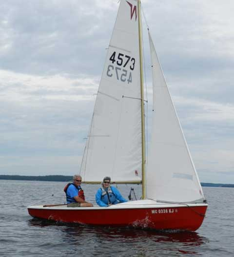 Wayfarer 16, 1975 sailboat