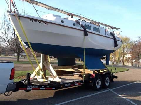 Westerly Centaur, 26 ft., 1974 sailboat