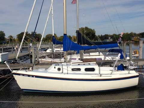 Westerly Cirrus 22, 1970 sailboat