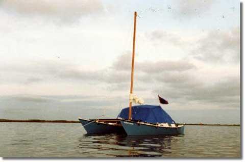 Wharram Tiki 21 ft sailboat