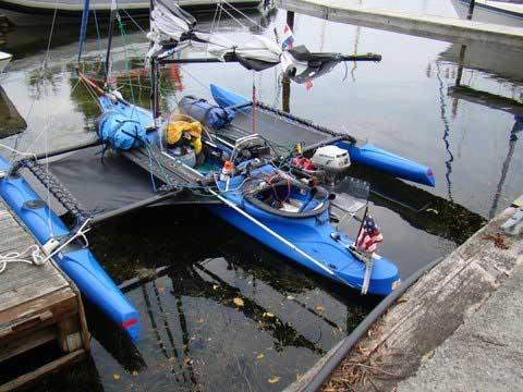 Windrider 17, 2007 sailboat
