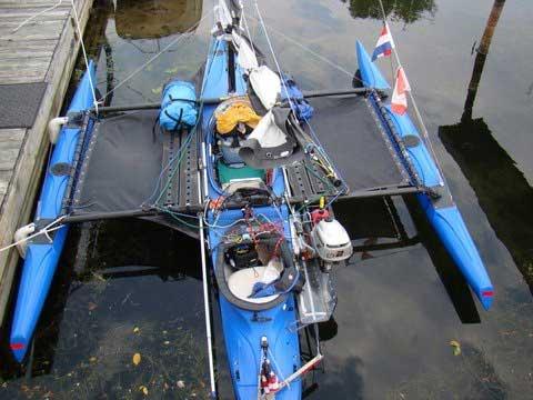 Windrider 17, 2007, Lake Champlain, Essex, New York, sailboat for