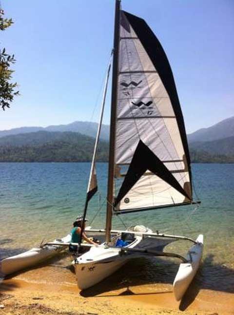 Windrider 17, 2009 sailboat