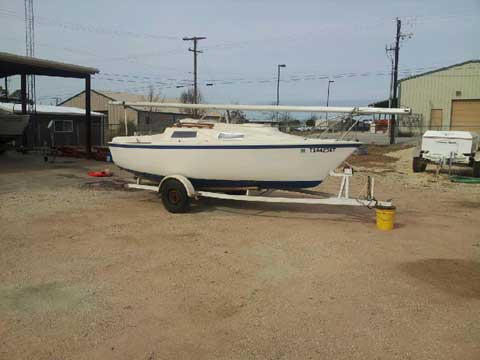 Windrose 18', 1976 sailboat