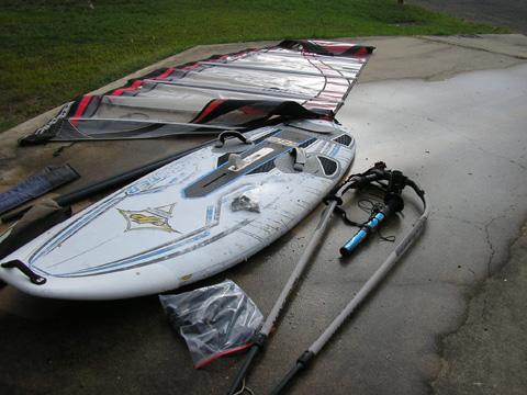 Windsurfer JP Australia brand, Funster 180 Model sailboat