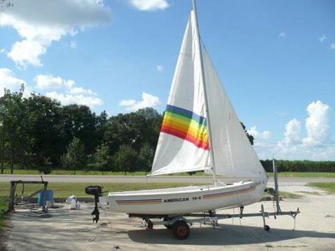 American 14.6 sailboat