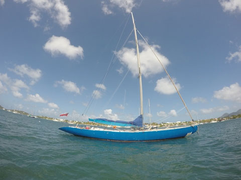 Custom 12 Meter Azzurra Ii 1985 Simpson Bay French