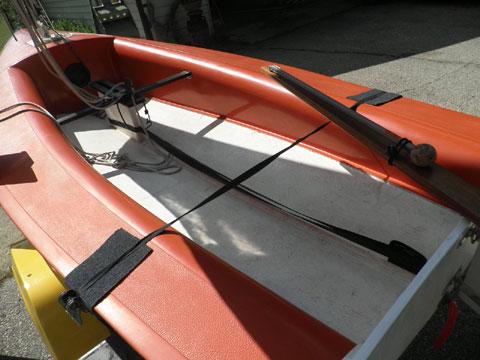 Banshee sailboat w/trailer, 1976 sailboat