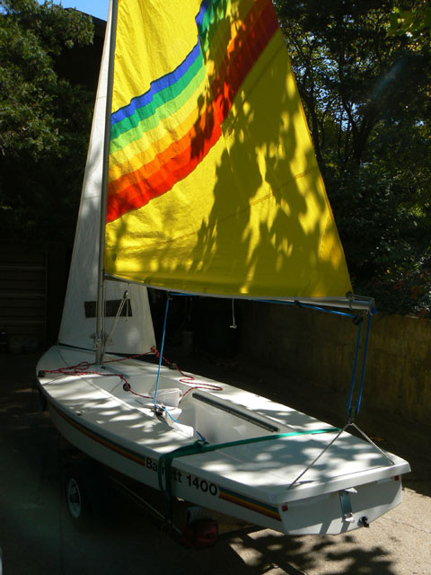 Barnett 1400/Sunfish combo, 1995 sailboat