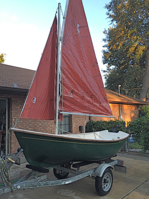 Sailboat Trailer For Sale >> Bauer 10 Sailing Dinghy, 2008, St Augustine, Florida ...