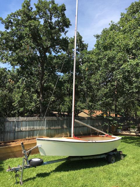 Blue Jay one-design sloop, 1970s sailboat