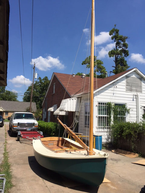 Bolger Bobcat sailboat