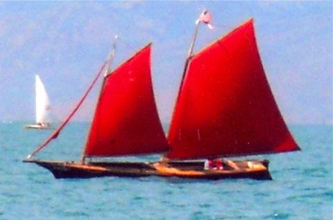 Bolger Lite Schooner, 2001 sailboat