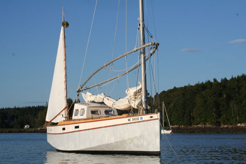 Original Red Zinger 1986 Midcoast Maine Sailboat For