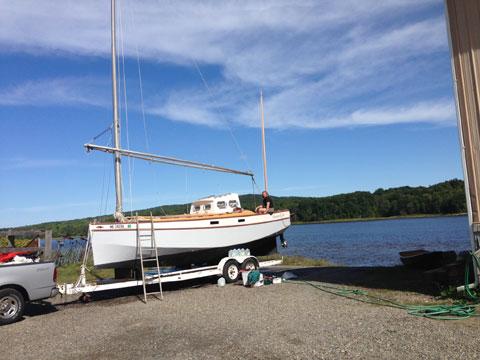 Original Red Zinger, 1986 sailboat