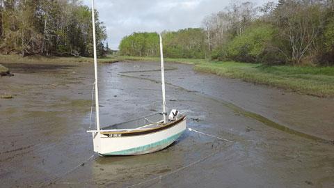 Bolger Oldshoe cat-yawl, 12 ft., 2010 sailboat