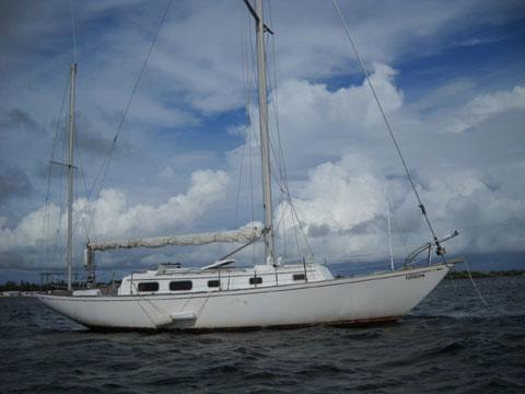 Bristol 40 project yawl, 1979, sailboat