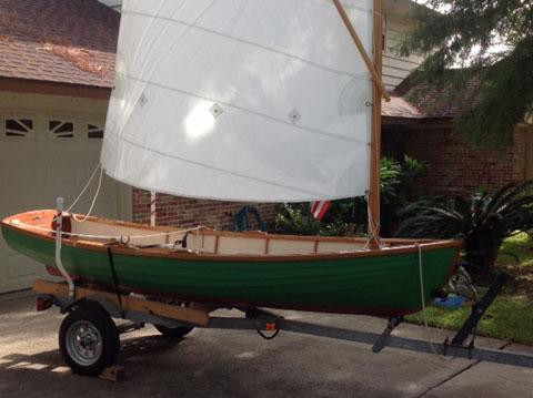 Brooks Sailing/rowing dinghy, 2007 sailboat