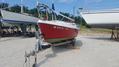 Brunswick 18', 1975 sailboat