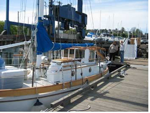 Buehler Grizzly Bear Double Ender, 38 ft., 1988 sailboat