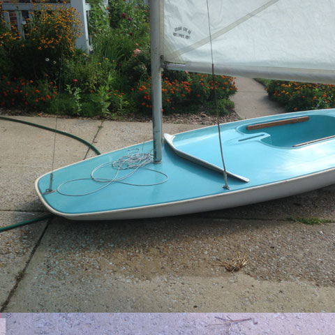 Butterfly, 1960s sailboat