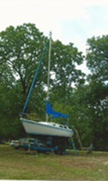 1974 Cal sailboat
