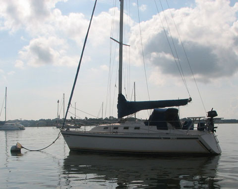 Canadian Sailcraft 30 (CS30), 1988 sailboat