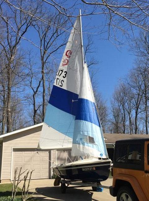 C and L 16, 1984 sailboat