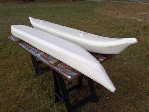 Canoe, Sailing Canoe, 17' sailboat