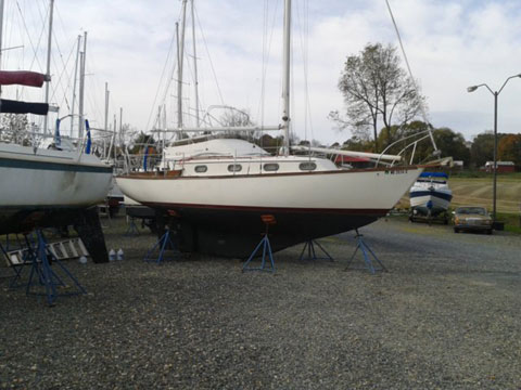 Cape Dory 28, 1979 sailboat