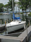 1989 Capri 22 sailboat