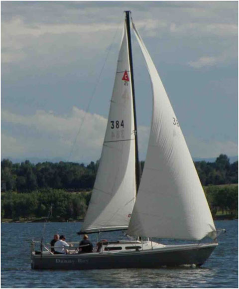 Capri 25, 1983 sailboat