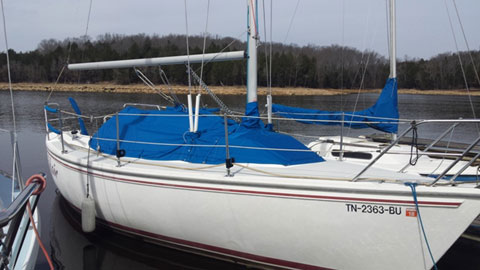 Capri 26, 1991 sailboat