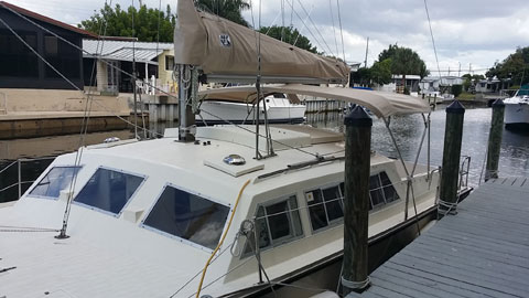 Catalac 8M, 1984, sailboat