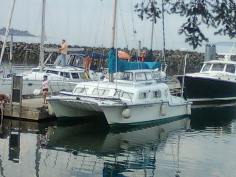 Catalac Catamaran, 9 meter, 70s sailboat