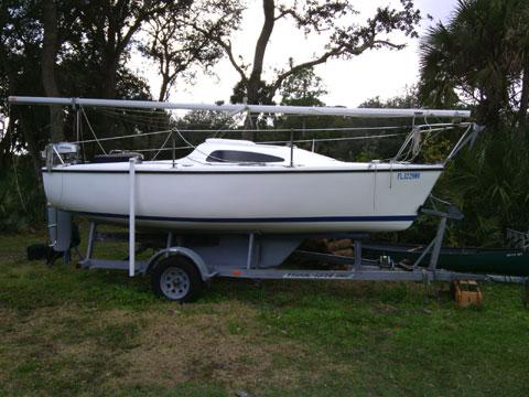 Catalina 18, 2007 sailboat