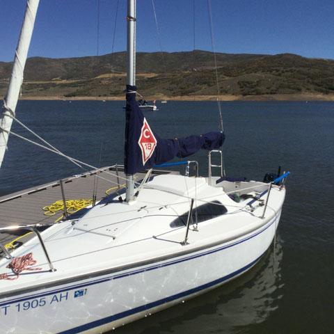 Catalina 18, 2008 sailboat