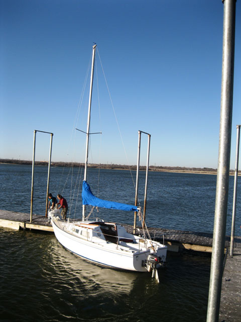 Catalina 22 Swing Keel 1985 Fort Worth Texas Sailboat