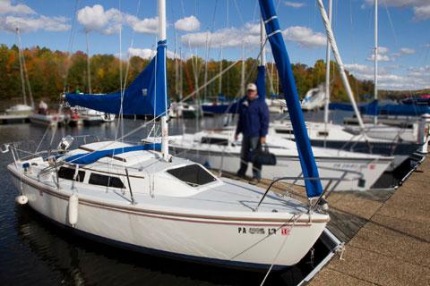 Catalina 22, Wing Keel, 1988 sailboat