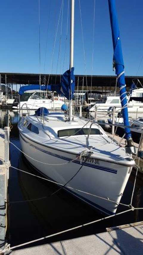 Catalina 250 Wing Keel, 1999 sailboat