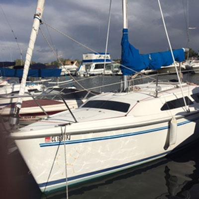 Catalina 250, 1991 sailboat