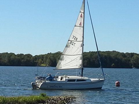 Catalina 250 wb mk-II, 2004 sailboat