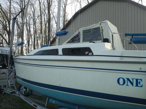 Catalina 250 wb mk-II, 2004, Muncie, Indiana, sailboat for