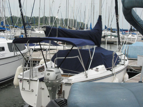 Catalina 25 1989 St Louis Missouri Sailboat For Sale